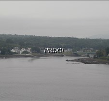 View from Ft. Knox, ME