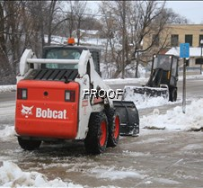 Blizzard city skid steers