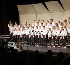 Eighth grade choir
