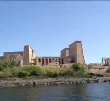 Philae Temple from water