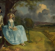 Mr and Mrs Andrews - Thomas Gainsborough