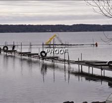 Dock going in