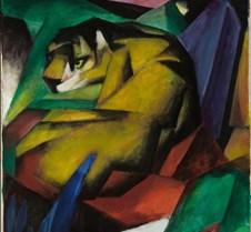 Tiger – Franz Marc – 1912 – Lenbachhaus