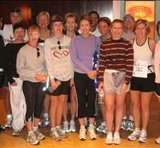 Houston Marathon 2008 What a time we had!!!  The run was okay but I think we laughed more than we ever have.  To think that 13 of us trained for 4 1/2 months and everyone was able to finish their race.  Glad that we were able to meet up with Todd Davison before the race for the