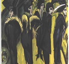 Five Women on the Street – Ernst Ludwig