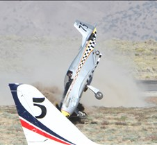 Thunder Mustang #75 Air Race Crash 455a
