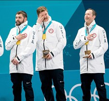 Curling Team wins Gold
