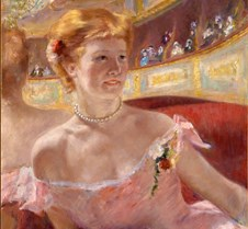 183Woman with a Pearl Necklace in a Loge