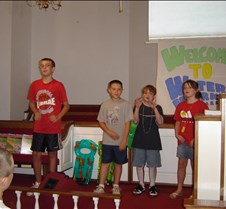 2007 VBS closing program and picnic 006