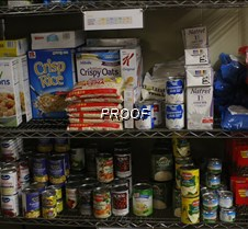 food shelf stock