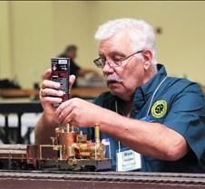 "Ron Sickler Fueling His Engine ""Nina"""