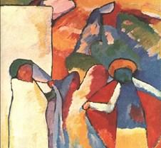 Improvisation 6-1909-Wassily Kandinsky-