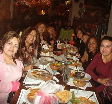 Girls Annual Dinner @ the Rumba Room