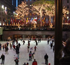 Rockefeller Center ice skaters