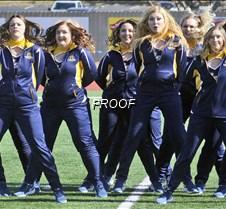 Racer Girls: SEMO game 2018-19 Murray State University dance team, the Racer Girls. Routine during the SEMO football game