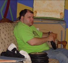 Trivia 2004 Mark getting clocks ready