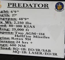 Predator Un-Manned Drone (Info)
