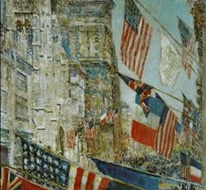 Allies Day May 1917 Childe Hassam