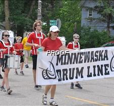 Minneaska Drum Line