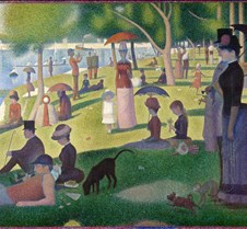 A Sunday on La Grande Jatte - Georges Se