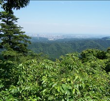 View off Takao after lift 3