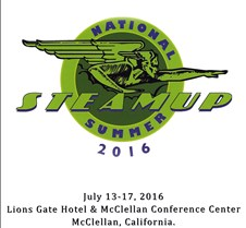2016 National Summer Steamup Sacramento Updated  08-06-2016.