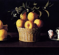 Still-life with Lemons Oranges and Rose