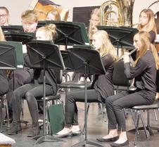Varsity band flutes