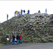 Giant's Causeway and our group