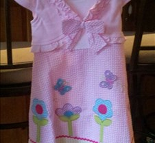 Grace pretty Easter dress she wrote this