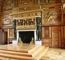 Chateau de Fontainebleau Fireplace