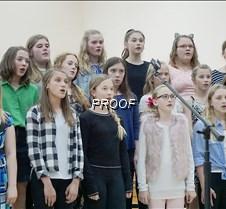 Sixth grade choir girls