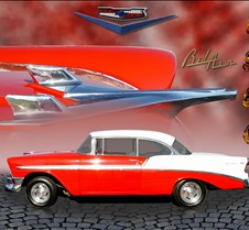 56chevy montage