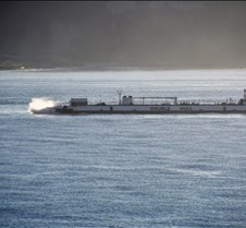 Barge Southbound