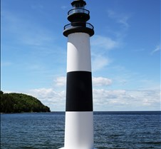 Sister Bay Marina Memorial Light