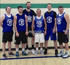Men's League Champs - 18-19