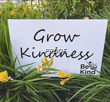 Grow Kindness sign