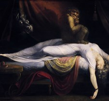 Nightmare-Henry Fuseli-1781-Detroit Inst