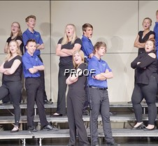 Jazz choir back to back