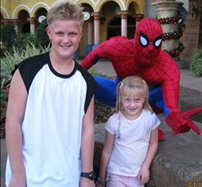 1Tyler & Jaxy with Spiderman