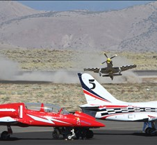 Thunder Mustang #75 Air Race Crash 451a