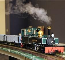 "Live Steam Locomotive ""Royal Duchess"""