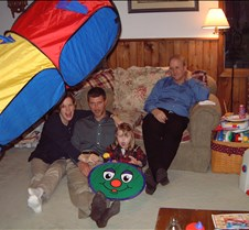Caitlin's Birthday 2001