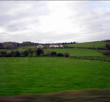 Driving through Killarney