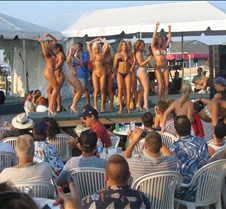 Bikini contest at Red Eyes Dock Bar