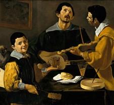 The Three Musicians - Diego Velázquez -