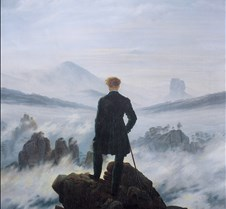 Wanderer Above the Sea of Fog-Caspar Dav