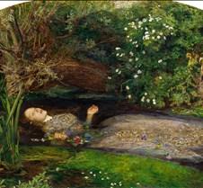 Ophelia - John Everett Millais - 1851 -