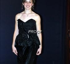 Black prom w rhinestone