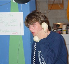 Aaron calling in answer